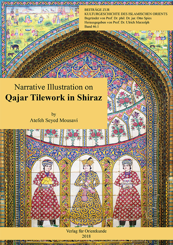 Narrative Illustration on Qajar Tilework in Shiraz